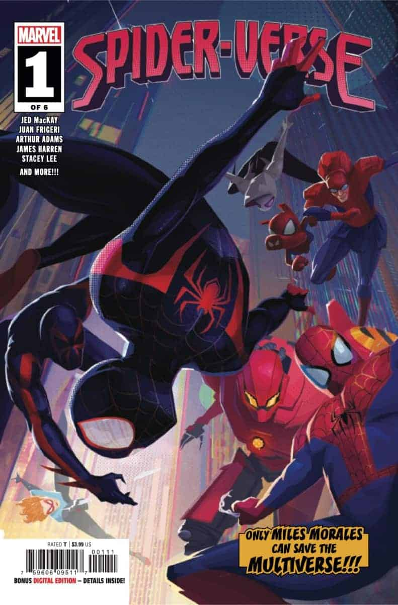 spider-Verse #1 2019 preview