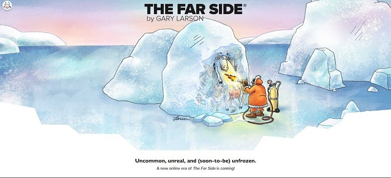 FAR SIDE Announcement