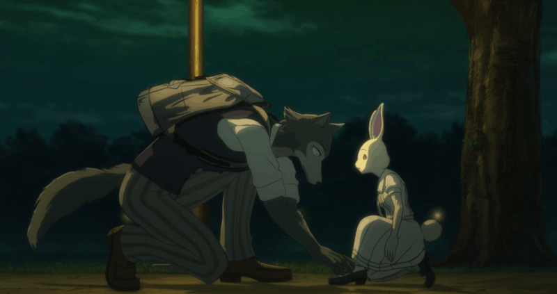 BEASTARS: Legosi and Haru Meeting