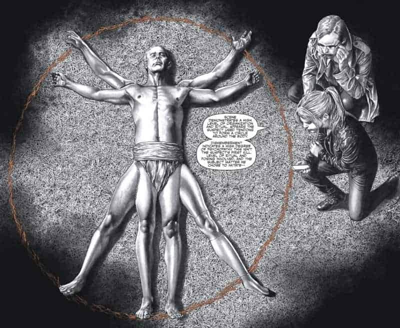Criminal Sanity: The Vitruvian Man