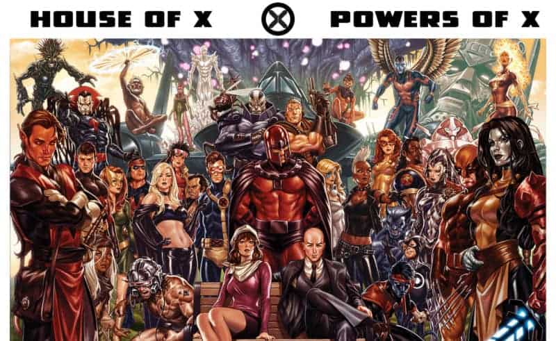 Jonathan Hickman's X-Men Cast